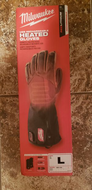 Milwaukee Rechargeable Heated Gloves for Sale in Grain Valley, MO