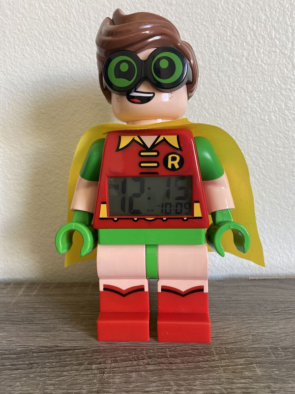 Robin Battery Operated Alarm Clock