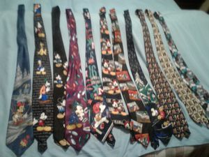 Disney neck ties for Sale in Puyallup, WA