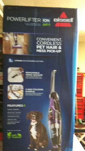 Hussle powerlifter cordless vacuums cleaner brand new in box for Sale in Austin, TX