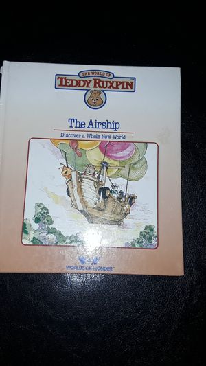 Teddy Ruxpin the airship book for Sale in Sahuarita, AZ