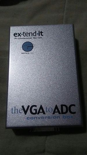 VGA to ADC converter for older Apple cinema display for Sale in South San Francisco, CA