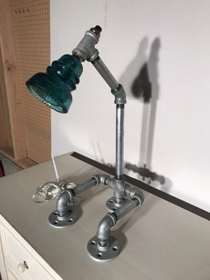 Pipe lamp with Insulator for Sale in Portland, OR
