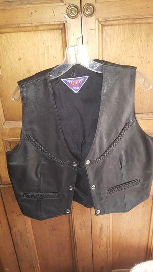 MOB Leather Unisex Motorcycle Vest L for Sale in Phoenix, AZ