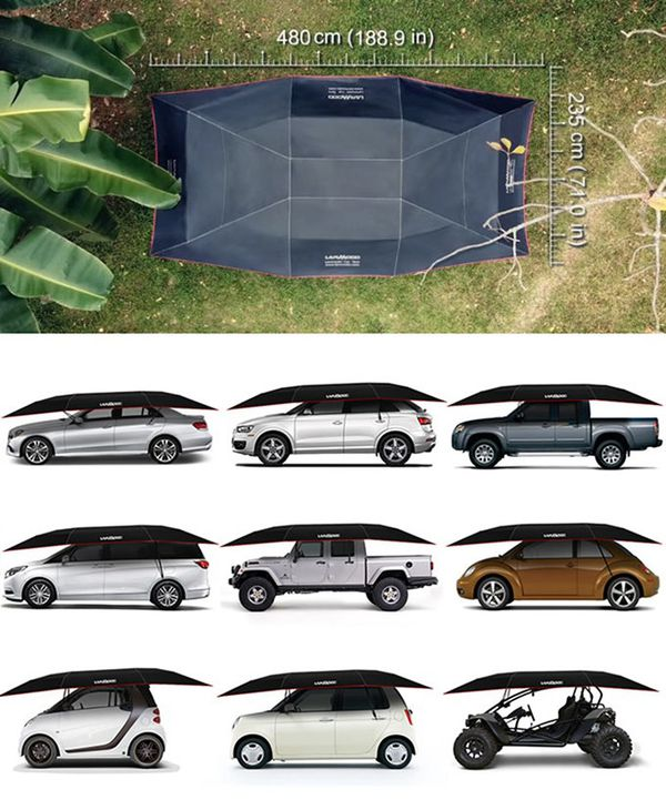Lanmodo Pro Four-Season Semi-auto Car Tent
