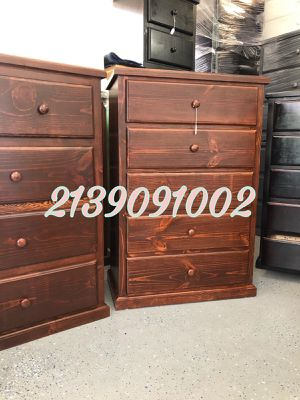 BROWN DRESSER NEW 💥 SOLID WOOD READY FOR PICK IT UP 💥O DELIVERY AVAILABLE 💥LISTO PARA RECOGERLO O ENTREGA A DOMICILIO DISPONIBLE for Sale in Bellflower, CA