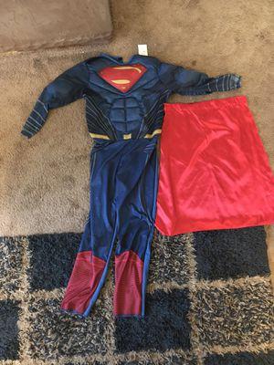 Boys Superman costume, medium for Sale in El Cajon, CA