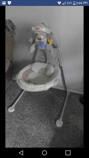 Fisher price baby swing for Sale in Rancho Cucamonga, CA
