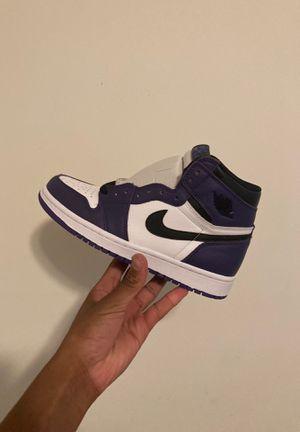 Jordan 1 court purple (gs) deadstock for Sale in Richmond, VA