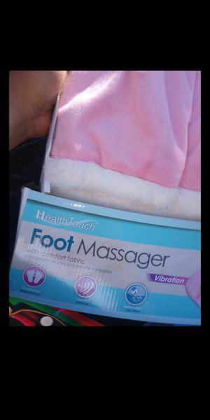 Health touch foot massager for Sale in Fresno, CA
