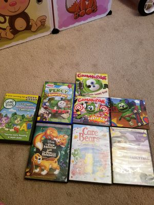 Kids DVDs movies...good condition for Sale in Clifton, NJ