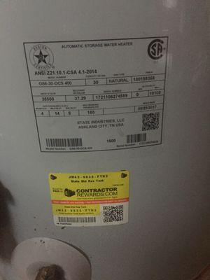 Gas water heater for Sale in Virginia Beach, VA