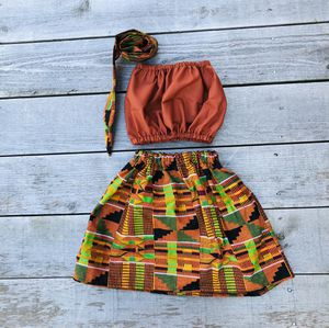 Ankara clothes/African clothing/baby set/ for Sale in Pemberton, NJ