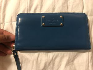 Blue Kate Spade Wallet for Sale in DuPont, WA