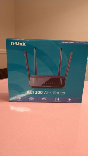 D-LINK dual band WiFi router for Sale in Marietta, GA