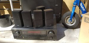 Bose acoustimas 15 and denon reciever for Sale in City of Industry, CA