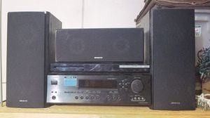 Onkyo surround stereo & speakers for Sale in Glendale, AZ