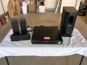Panasonic DVD Home Theater Sound System #SA-PT750 for Sale in San Jacinto, CA
