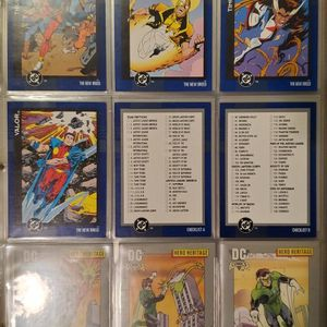 Comic Cards 1993 DC Skybox Complete Set In Mint Condition for Sale in Spring Valley, CA