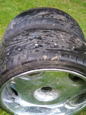 Wheels ( 2 ) with Free tires! for Sale in Rehoboth, MA