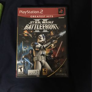 Star Wars Battlefront II for PS2 for Sale in Miami, FL