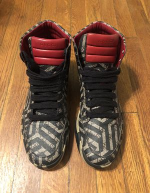 Gucci tribal print sneakers size 11 good condition originally purchased from Saks 5th Authentic for Sale in Washington, DC