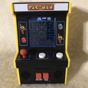 Basic Fun PAC Man Mini Arcade With Color Screen for Sale in Anchorage, AK
