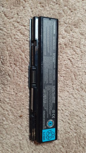 TOSHIBA LAPTOP BATTERY for Sale in Dacula, GA