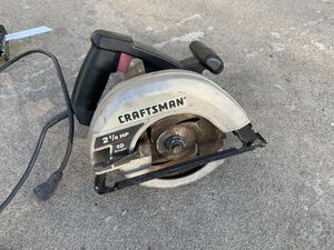 Craftsman saw for Sale in Atwater, CA