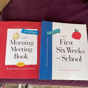 "Teacher Books ""First 6 Weeks Of School"" for Sale in Santa Clara, CA"