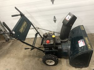 """Craftsman 24"""" snowblower for Sale in South Elgin, IL"""