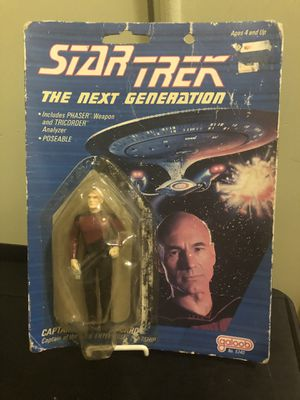 "1988 Star Trek ""The Next Generation"" Captain Jean-Luc Picard action figure for Sale in San Francisco, CA"