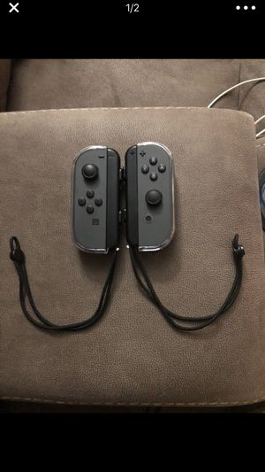 Gray joy cons for Nintendo switch for Sale in East Wenatchee, WA