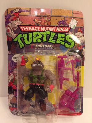 1991 Dirtbag - NEW MOC - TMNT Teenage Mutant Ninja Turtles - Vintage Action Figure Toy for Sale in Lisle, IL