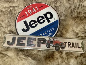 Jeep signs for Sale in Fresno, CA