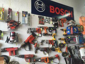 Tons of used tools at liquidation prices Stihl Bosch Hilti Hitachi Makita for Sale in Miami Gardens, FL