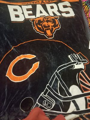 Chicago bear blanket for Sale in Clinton, IA