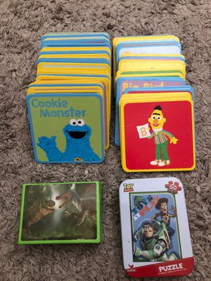 Kids Memory Matching game Sesame Street for Sale in Pico Rivera, CA