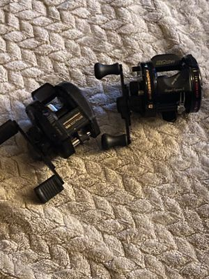 Abu Garcia ambassador royal express 2 bait caster +ambassador 521 XLTplus fishing reels classics combo deal or single for Sale in Bristol, PA