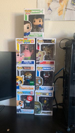 7 Collective Pop Toys... for Sale in Fairfield, CA