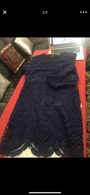 Blue lace dress for Sale in Philadelphia, PA