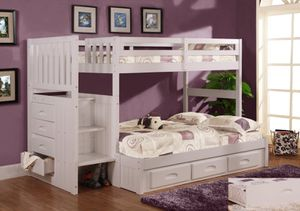 Twin over full bunk bed. $53 DOWN PAYMENT for Sale in Orlando, FL