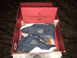 Jordan 4 Retro Levi's Denim Size 11 for Sale in Katy, TX
