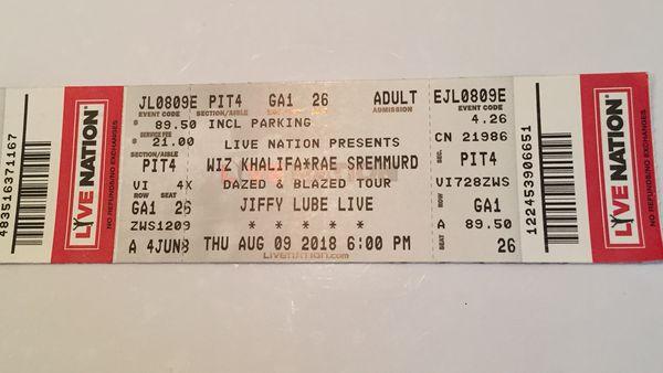 Reduced Price for Wiz Khalid's & Rae Sremmurd Concert