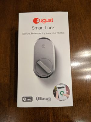August Smartlock for Sale in Plano, TX