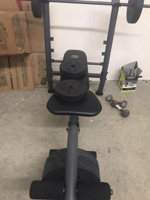 Weight bench and dumbbells set for sale for Sale in Lewisville, TX