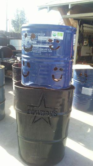 Burn barrels ( logos) for Sale in Sanger, CA