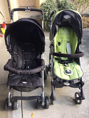 Bolero Zooper and Peg Perego strollers looking for a new home for Sale in Santa Clara, CA