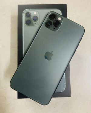 Apple iPhone 11 Pro Max - 256GB - Midnight Green for Sale in Atlanta, GA