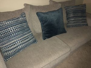 Grey Couch for Sale in Nashville, TN
